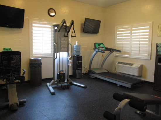 Best Western Plus Landmark Hotel: Don't miss your workout