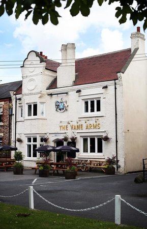 The Vane Arms: External