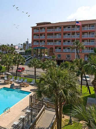 Quality Inn & Suites Beachfront: Quality Inn and Suites Beachfront Galveston