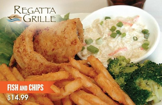 Regatta Grille: Fish and Chips