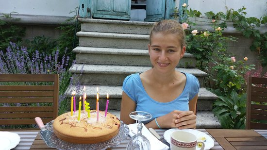 La maison de Juliette: torta di compleanno