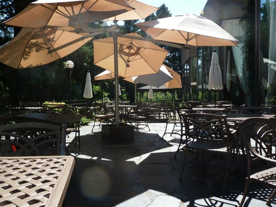 Hotel Bonaventure Montreal: the forbidden breakfast garden