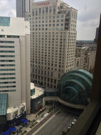 Hyatt Regency Indianapolis: Our View from the Room