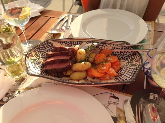 Restaurant Alpenblick: 2x Hauptgang