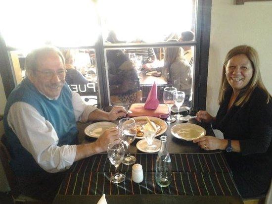 Pueblo Mio: almuerzo con mi esposa