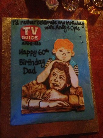 Croissants Bistro and Bakery: Andy Griffith Cake
