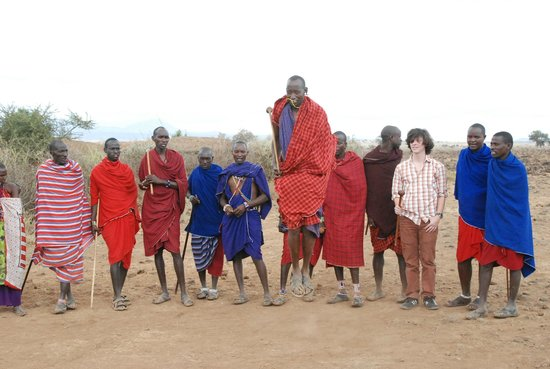 Ol Tukai Lodge: Maasai Warriors