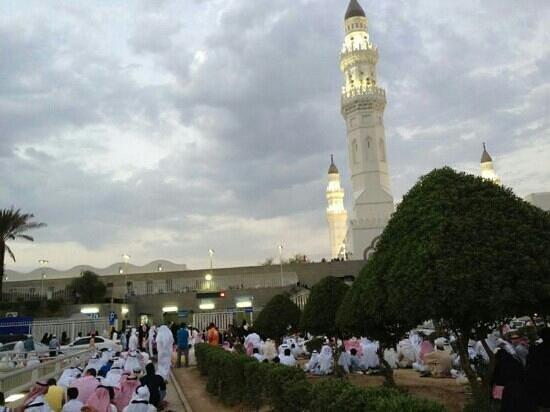 Mosquée de Quba : مأذنة قباء