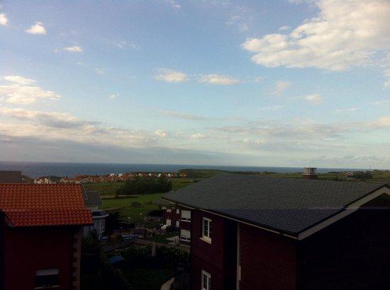Calas de Liencres: Vista do quarto do hotel
