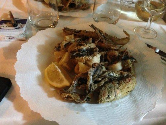Antica Osteria Il Baretto : Frittura mista