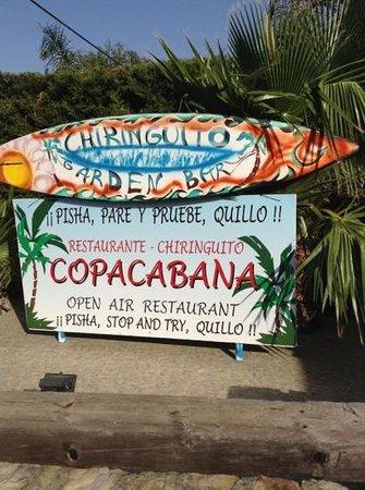 Hotel Copacabana Beach Tarifa: garden bar with chillout area