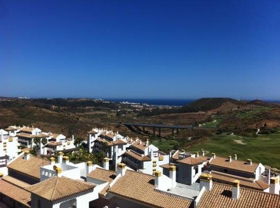 La Cala Golf : view from from Cala Nova Grand Golf, view towards the Sea