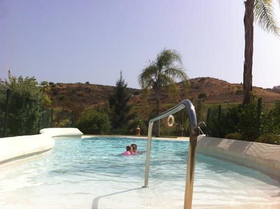 La Cala Golf: our pool at Cala Nova Sea Golf in Cala De Mijas