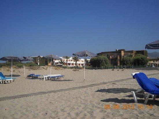 Bella Beach Hotel : Beach