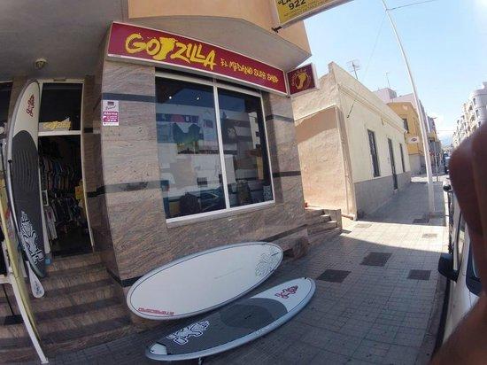 Godzilla Surf Shop