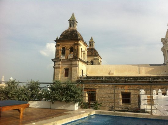 Casa Claver Loft Boutique Hotel: View from pool