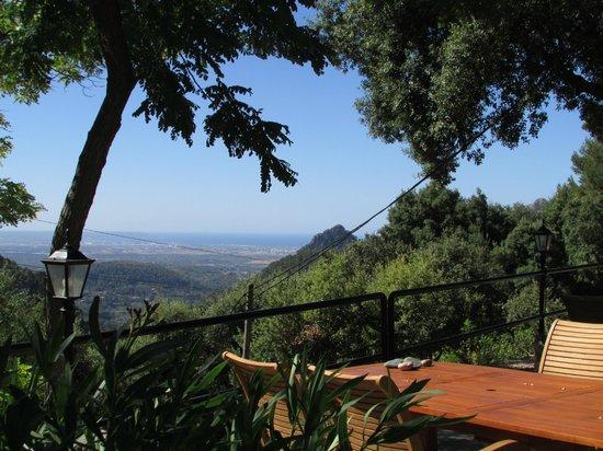 Bunyola, España: D'alt des Coll, Vista de Palma