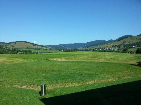 Breggers Schwanen: La vue sur la vallée