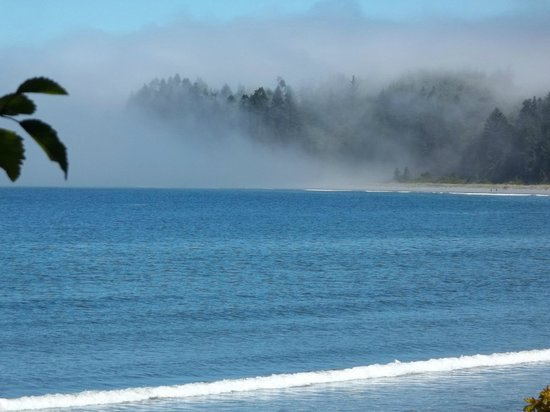 Beaconsfield Inn: Nearby views of Straight of Juan de Fuca (incredible)