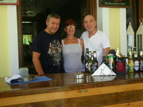 Liver Bird Cafe : clark, sheila and wayne