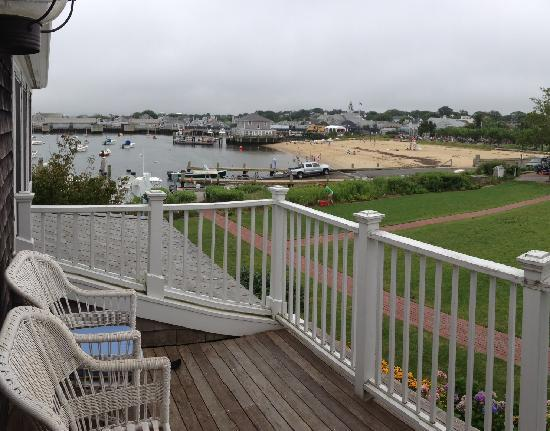 White Elephant: Harbor View Suite, view from deck