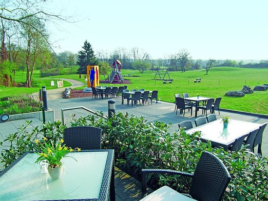 Restaurant Mainzer Golfclub: Terrasse