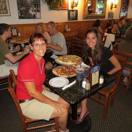 La Pizzeria: great supper with my daughter