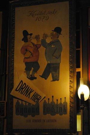 Wynand Fockink : Inside teh tasting room
