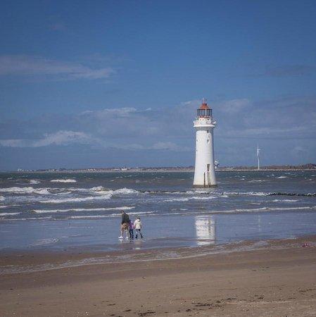 Albion Guest House : New Brighton Beach 5 min walk