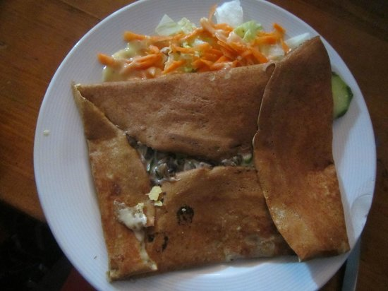 La Maison des Crepes : Mushroom and cheese
