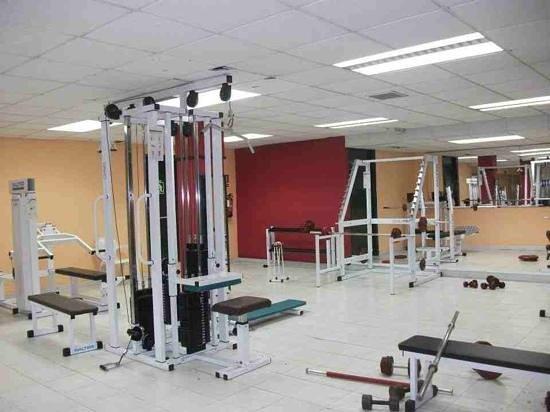 H.TOP Platja Park: the gym