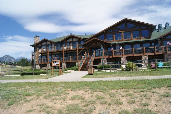 The Estes Park Resort: From the lake where we fished
