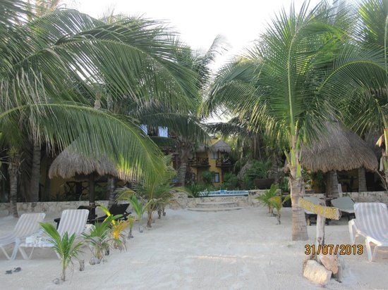 Holbox Dream Beach Front Hotel by Xperience Hotels: view of teh hotel from the beach