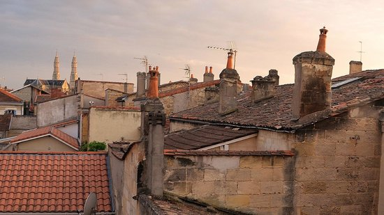 Aquitain Hotel : Rooftops of Bordeaux