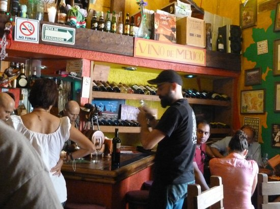 La Vina de Bacco : Friendly service