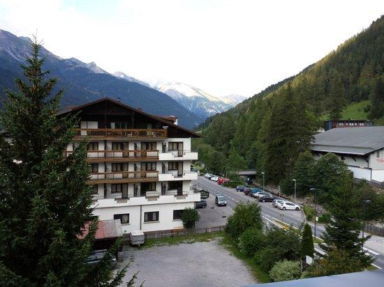 Hotel Garni Rundeck: Dal balcone panorama