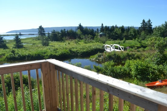 Cabot Shores Wilderness Resort: View from our yurt!