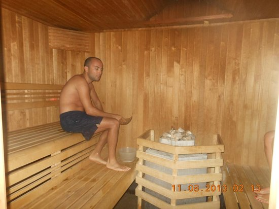 Antares Hotel : Sauna