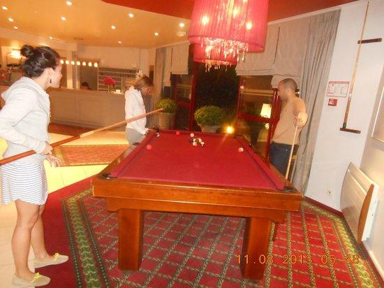 Antares Hotel : Billard