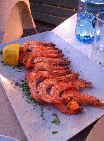 Sardelaki: Fresh Grilled and trimmed Shrimp