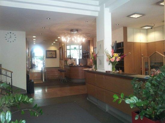Scala Stiegl Hotel: Empfang