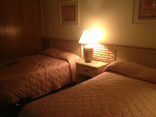 South of the Border: Beds very lumpy, but if you're tired enough it won't matter for one night