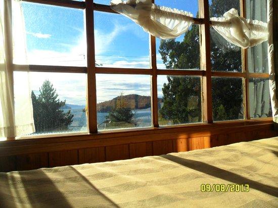 Ruca Nehuen: vista habitacion