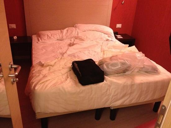 Best Western Hotel Porto Antico : dimensione stanza matrimoniale uso singola come da mia prenotazione