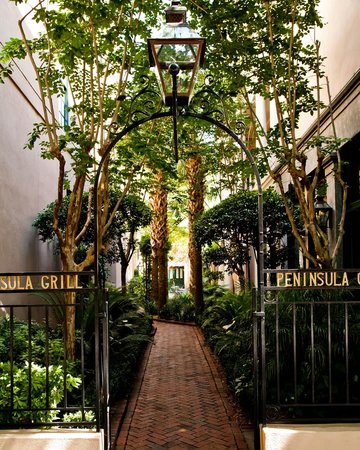 Welcome to Peninsula Grill in the very heart of historic Charleston