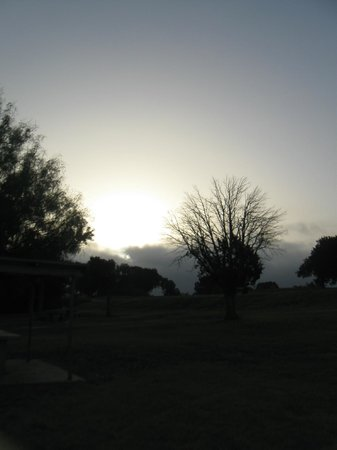 Woodway Park: Another picture of the sunrise