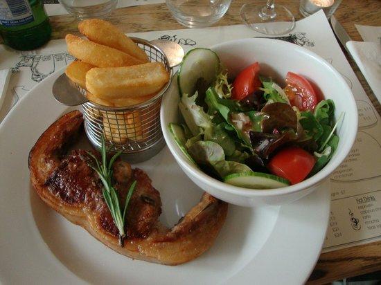 The Union Steakhouse: Barnsley lamb chop