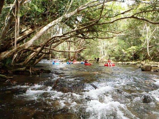 Aussie Drifterz: Approaching the low tide rapids