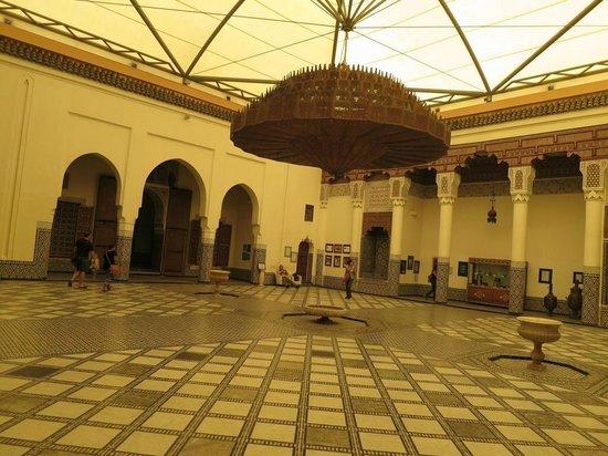 Riad Les Trois Palmiers El Bacha: museum