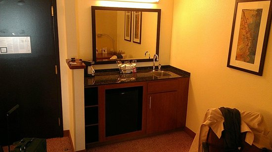 Hyatt Place Orlando Airport: wet bar
